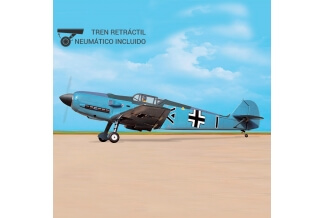 Messerschimtt Bf-109E 1650mm Black Horse