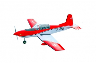 Pilatus PC-7 (Swiss Version) EP-GP 1540mm. VQ Models (ARF)