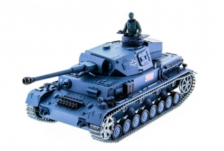 TANQUE RC GERMAN PZKPFW IV AUSF F2 (AIRSOFT + SONIDO + HUMO)