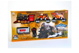 Train King Choo Choo - Tren Rc con ¡Humo, Sonido y Luces!