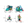 MachineBOTs - Set de Robots RC 4 en 1 (170 piezas)