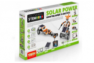 DISCOVERING KIT 16 en 1 - STEM Solar Power