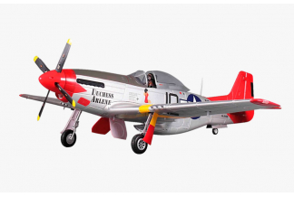 FMS P-51D Mustang V8 Red Tail 1400mm PNP