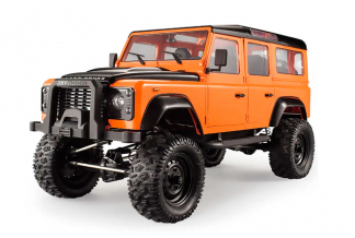 NEW DEFENDER LAND ROVER COCHE RC CRAWLER 4X4 1:8 (HASTA 10KM/H)