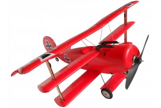 Avión RC Biplano Red Baron 600mm. PNP